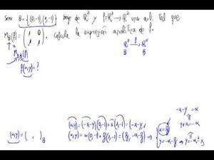 Aplicaciones lineales sin usar fórmula de cambio de base 4