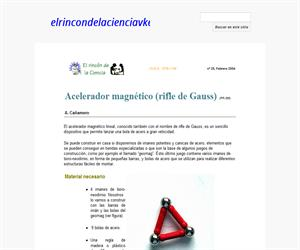 Acelerador magnético (rifle de Gauss)