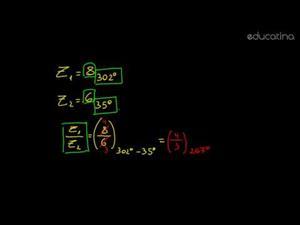 División de complejos en forma polar