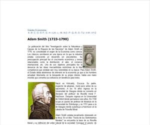 Grandes Economistas-Adam Smith (1723-1790)