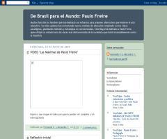 De Brasil para el Mundo: Paulo Freire