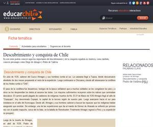 Descubrimiento y conquista de Chile (Educarchile)