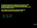 Resolver sistemas por eliminación 1 (Khan Academy Español)