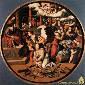 Martirio de Santa Inés ( Vicente Masip)