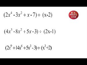 Regla de Ruffini para dividir polinomios