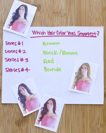 Does Hair Color Affect Perception of Intelligence?