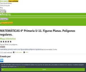 Las figuras planas. Elementos y perímetro de los polígonos. Editorial Anaya
