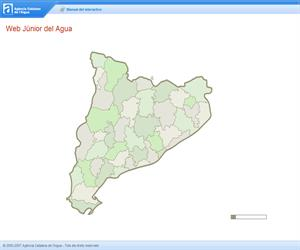Web Junior del Agua, actividades educativas interactivas