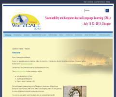 IV Conferencia WorldCALL 2013 / Sostenibilidad y Aprendizaje de Lenguas Asistido por Ordenador