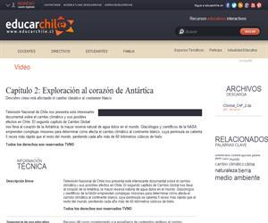 Capítulo 2: Exploración al corazón de Antártica (Educarchile)