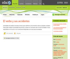 Los accidentes verbales