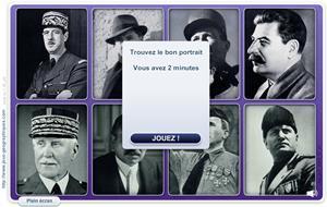Portraits de la 2eme guerre mondiale (Jeux historiques)