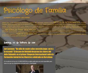 Psicólogo de Familia: blog de Psicología Familiar y Orientación Educativa