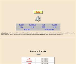 Reglas de uso de varias letras y de las palabras con mayúsculas y acentos (X)