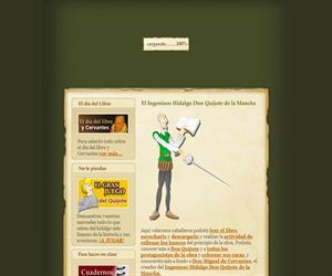 Aprende con Don Quijote de la Mancha