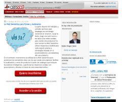 Webinar 'La Web Semántica para Pymes y Autónomos' (31 de mayo de 2012)