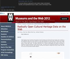 Radically Open Cultural Heritage Data on the Web