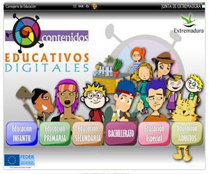 Recursos Educativos Digitales de Educarex