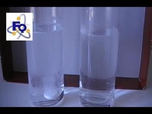 Experimentos de Química ( velocidad de las reacciones químicas): Pastilla efervescente