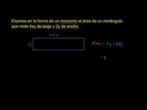 Multiplicación y división de monomios 1 (Khan Academy Español)
