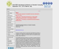 Sixth IEEE International Conference on Semantic Computing