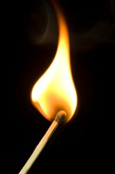 Which Part of the Flame is the Hottest?