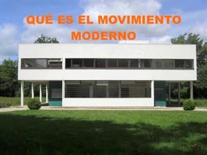Movimiento Moderno. Artecreha