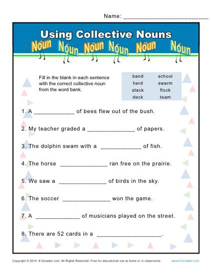 Using Collective Nouns