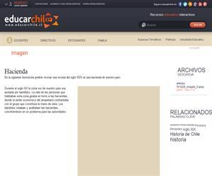 Hacienda (Educarchile)