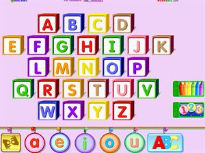 ABC alphabet and Phonemic Awareness Practice (Starfall Education)