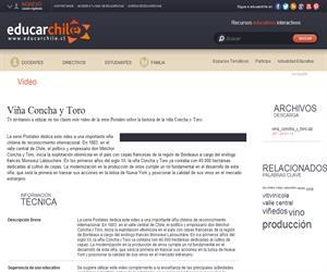 Viña Concha y Toro (Educarchile)