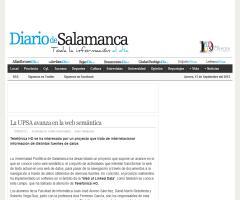 La UPSA avanza en la web semántica