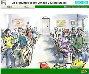 25 preguntas sobre Lengua y Literatura (II). Manuel Guerrero Gómez