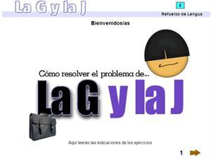 """Practica la ortografía de la """"g"""" y la """"j"""""""