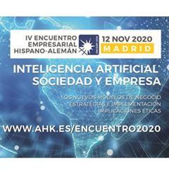La Inteligencia Artificial protagoniza el 4º Encuentro Empresarial Hispano- Alemán