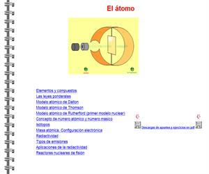 El átomo (fisicayquimicaenflash.es)