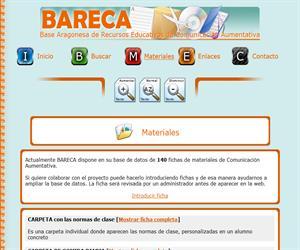 BARECA: recursos educativos de Comunicación Aumentativa