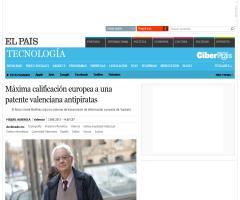 Máxima calificación europea a una patente valenciana antipiratas | Tecnología | EL PAÍS
