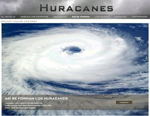 Así se forman los huracanes