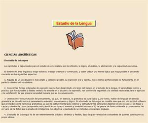 Estudio de la Lengua