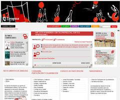 Zaragoza abre un portal de Gobierno Abierto para fomentar la transparencia