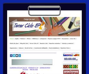 Web Tercer Ciclo Colegio San José