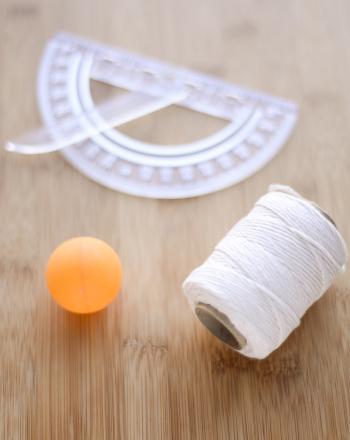 Ping Pong Ball Anemometer