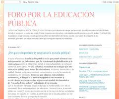 ¿Por qué es importante (y necesaria) la escuela pública?   Manuel de Puelles Benítez (Foro por la Educación Pública)