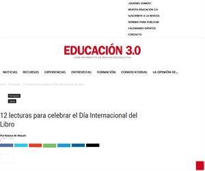 12 lecturas para celebrar el Día Internacional del Libro