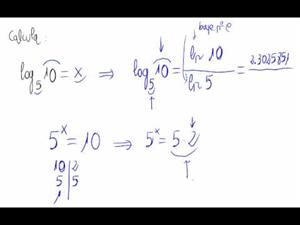 Fórmula del cambio de base en logaritmos