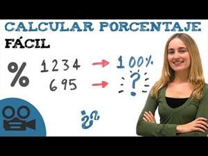 Calculando porcentajes