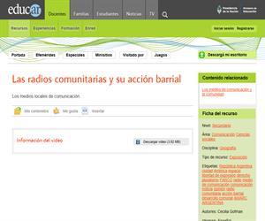 Las radios comunitarias y su acción barrial