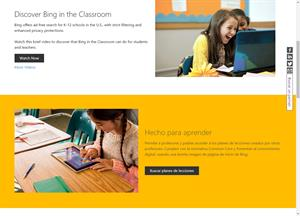 Bing in the Classroom