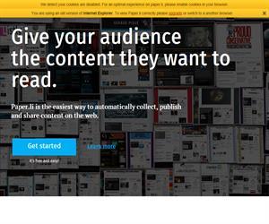 Paper.li, crea tu propio periódico
